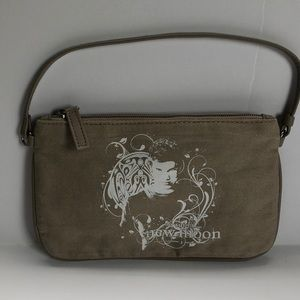 "Handbags - ""Twilight"" New Moon khaki wristlet"